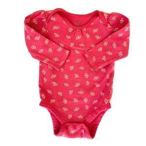 3/$25 GAP Baby Girl Floral Onesie